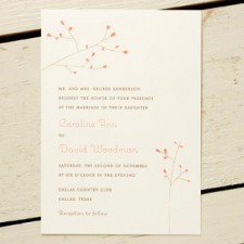 Blossom Wedding Invitations