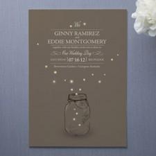 Fireflies Wedding Invitations