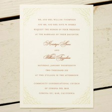 Nectarine Wedding Invitations