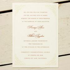 Nectarine Wedding Invitations