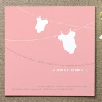 Onesie Whimsy Baby Shower Invitations