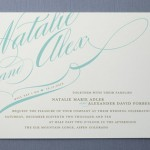 Winter Flourish Wedding Invitations