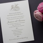 Aerial Wedding Invitations