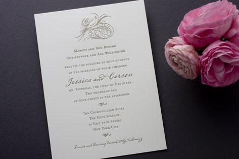 Aerial Wedding Invitations