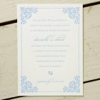 Angele Letterpress Wedding Invitations