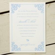 Angele Letterpress Wedding Invitations