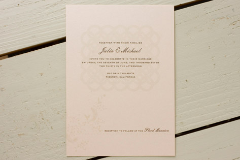 Audrey Lace Invitations