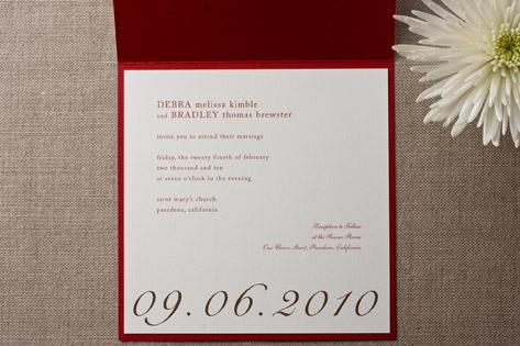 Barcelona Wedding Invitations