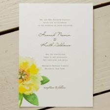 Cat Seto Blossom Wedding Invitations