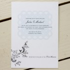 Cat Seto Lace Wedding Invitations