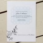 Cat Seto Lace Wedding Invitations