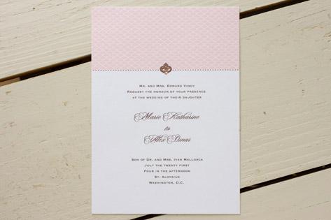 Cat Seto Lovely Wedding Invitations