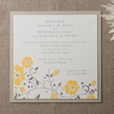 Clairemont Wedding Invitations