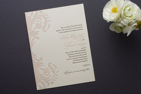 Classic Pretty Miss Wedding Invitations
