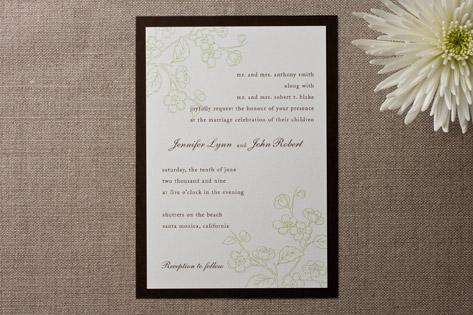 Coronado Wedding Invitations