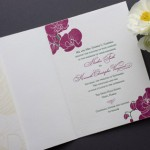Destination Aloha Letterpress Wedding Invitations