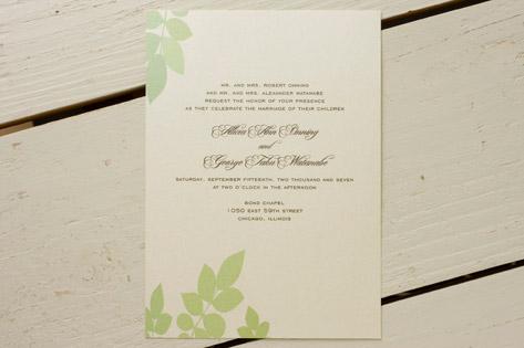 Eden Wedding Invitations