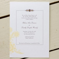 Napa Wedding Invitations