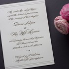 Noir Allure Wedding Invitations