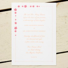 Sherbert Wedding Invitations