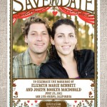 Cut Paper Save the Date Cards