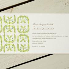 Egg Press Letterpress English Garden Invitations