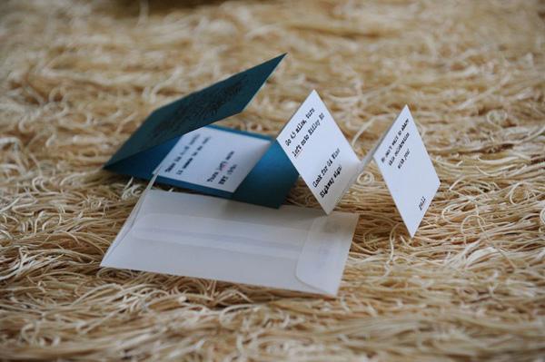 Mirabel Letterpress Directions Enclosure