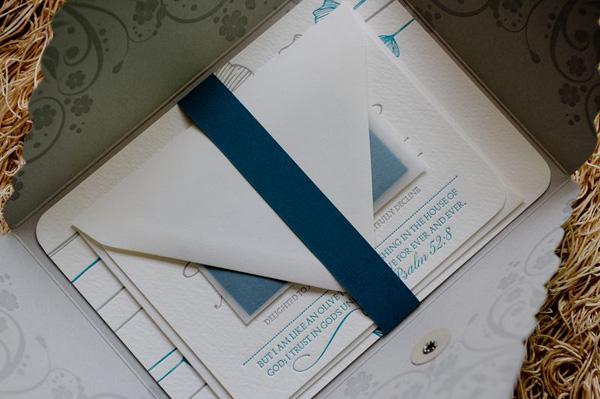 Mirabel Letterpress Wedding Invitations