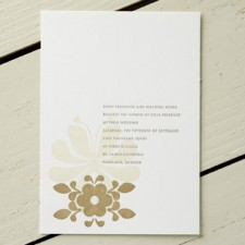 PInky from Helsinki Letterpress Wedding Invitations