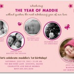 Sweet Moments Birthday Party Invitations