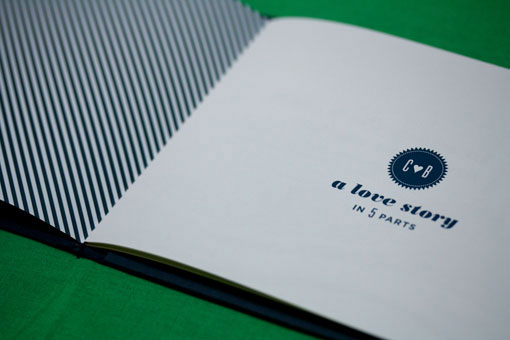 navy stripes invitation wedding