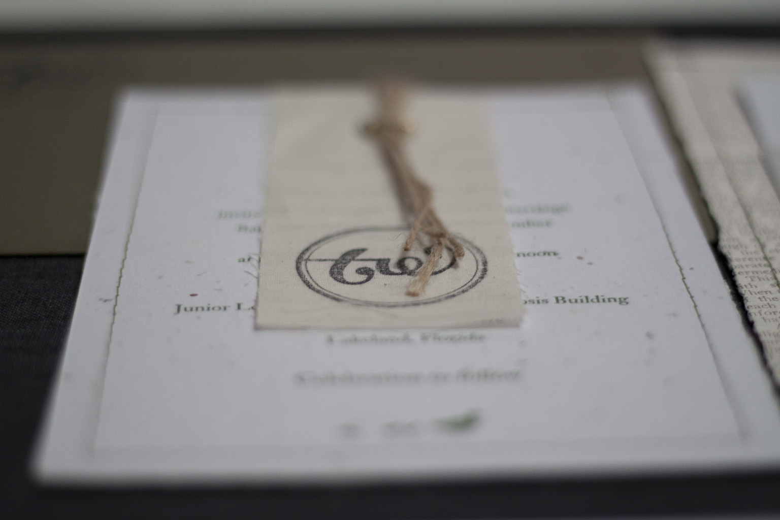52 plantable wedding invitations Plantable Letterpress Wedding Invitations