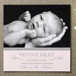 Sweet Sophistication Birth Announcements