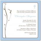 Tranquil Tree Communion Invitations