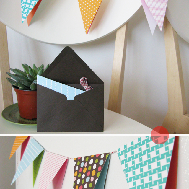 Pennant Invitation Kit