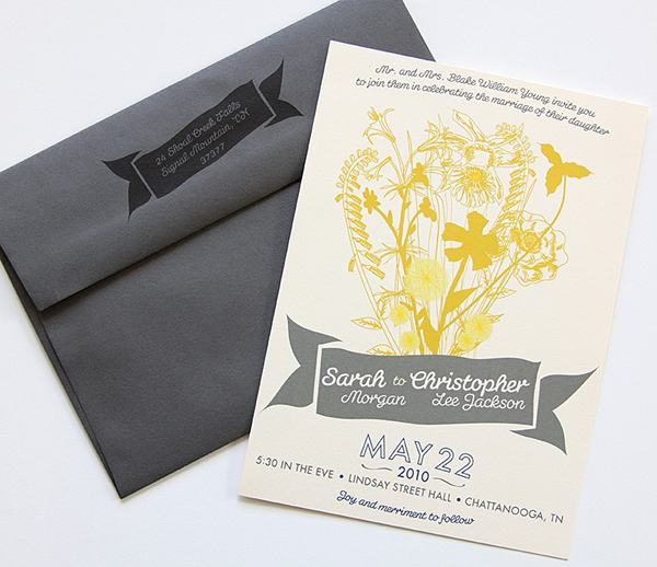 Dapper Paper Custom Wedding Invitations