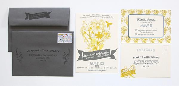 Dapper Paper Custom Wedding Invitations