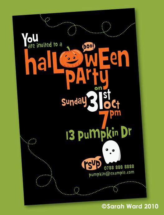 gingerbred halloween invitations2 halloween archives invitation crush,Cute Halloween Party Invitations