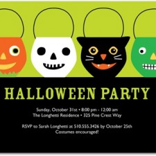 Halloween Party Invitations Party Pails