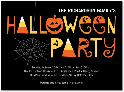 Spooky Soiree Halloween Party Invitations Invitation Crush