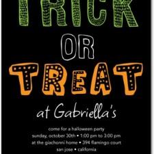 Halloween Party Invites Tricky Pick