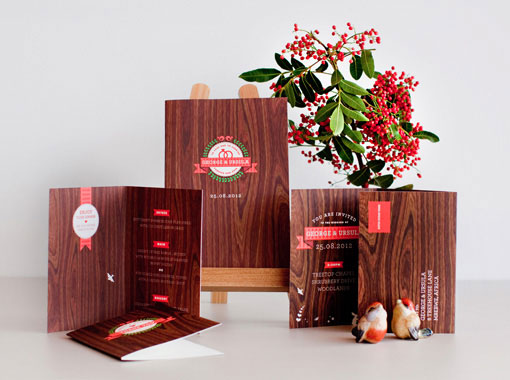 Wooden It Be Lovely Wedding Invitations