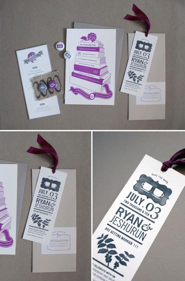 Invitations archives page 40 of 58 invitation crush book letterpress wedding invitations stopboris Gallery