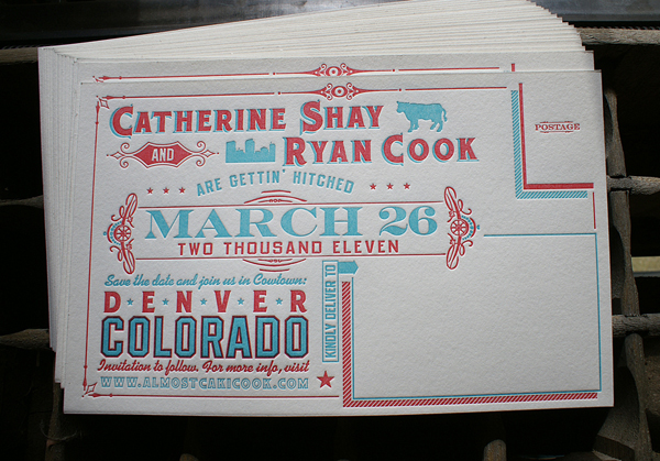 Here are just a few of my favorite wedding invites and save the date cards
