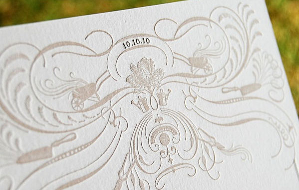 October Wedding Invitations
