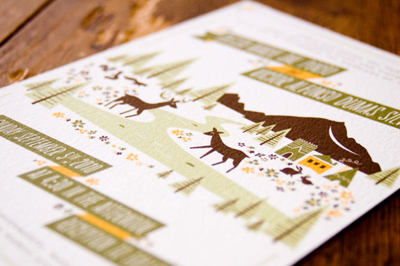 Woodland Wedding Invitations Anna Hurley