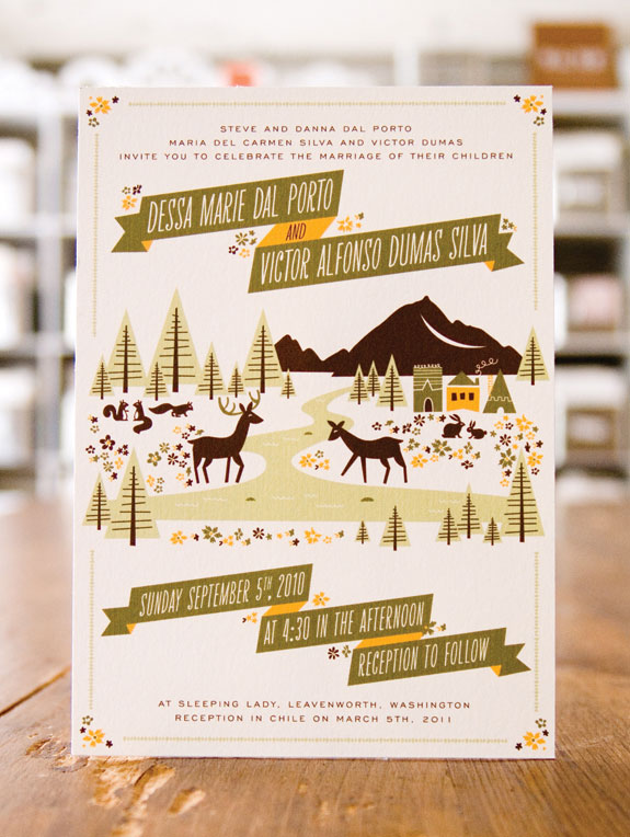 Dessa Victors Sweet Woodland Wedding Invitations Invitation Crush