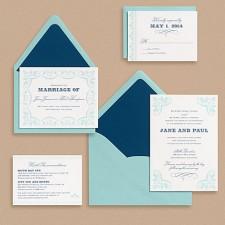 Paper Source Carnival Wedding Invitations