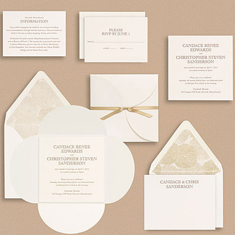 upper case cloister wedding invitations - invitation crush, Wedding invitations