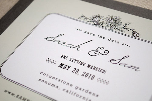 Hello Tenfold Vintage Save the Dates